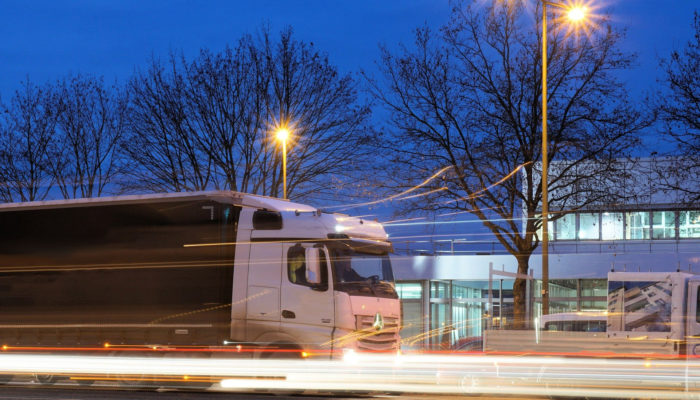 Stahl Transport Logistik